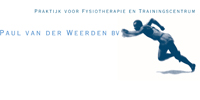 Logo vd weerden fysio trainingblauw
